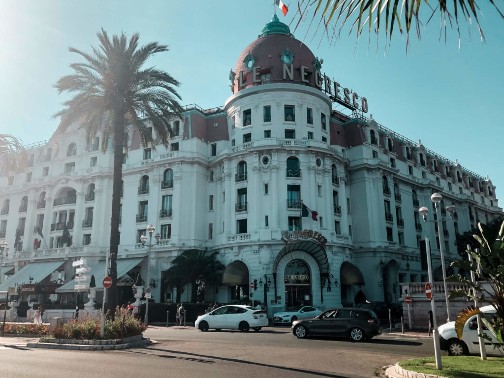 Hotel Negresco w Nicea